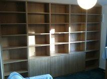 Oak Veneered Bookcase