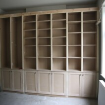 Elegant Bookcase Unit