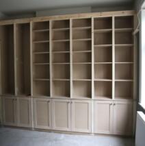 Elegant Bookcase Unit