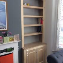 Shaker Bookcase Unit