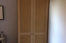 One Drawer Shaker Style Wardrobe