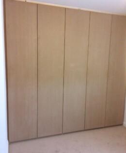 Plain MDF  Wardrobe