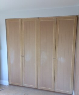 Tongue And Grooved Wardrobes