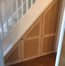 Shaker Style Under Stair