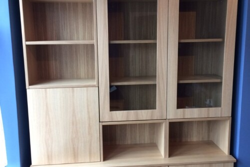 Oak Veneered Unit