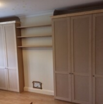 Double Wardrobe Alcoves