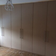 Plain MDF Wardrobes
