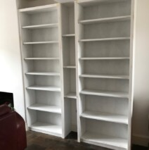 Double Bookcases
