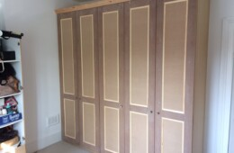 Shaker Wardrobes With Panel Mould