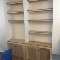 Simple Double Alcove Units