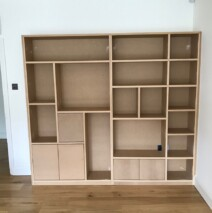 Modern Bookcase Unit