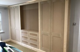 Wardrobes with TV Space